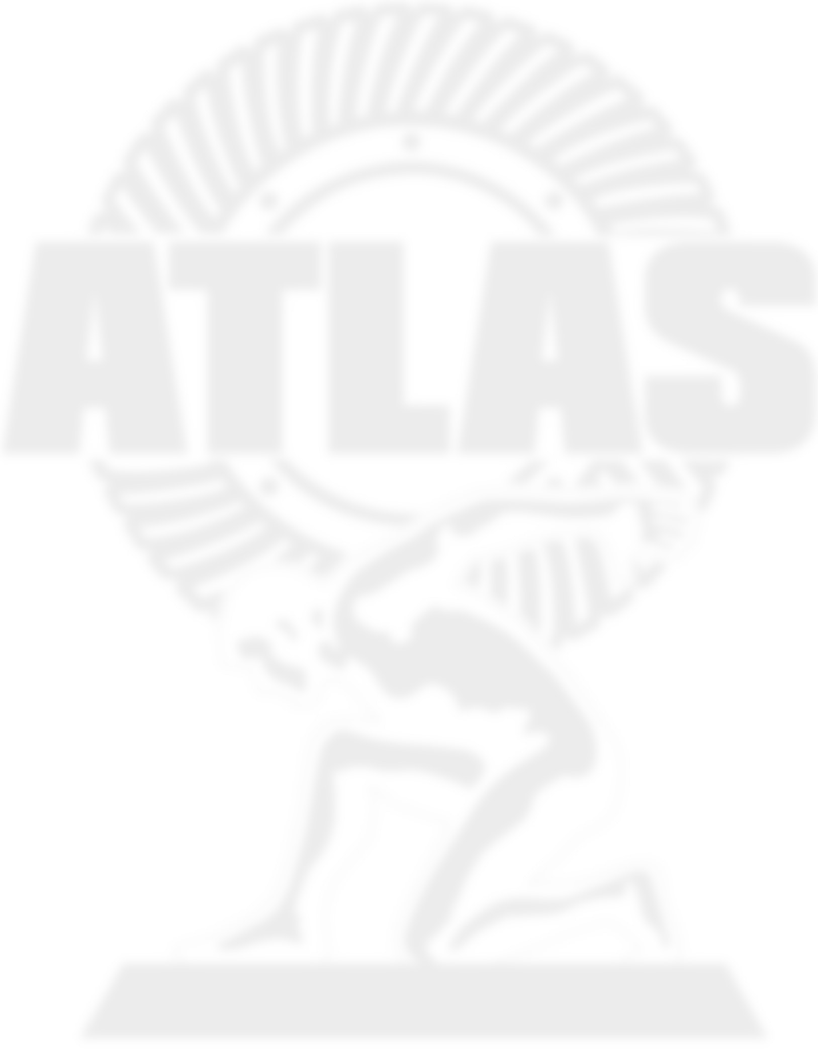 Atlas Primary Logo Single Color White Notext